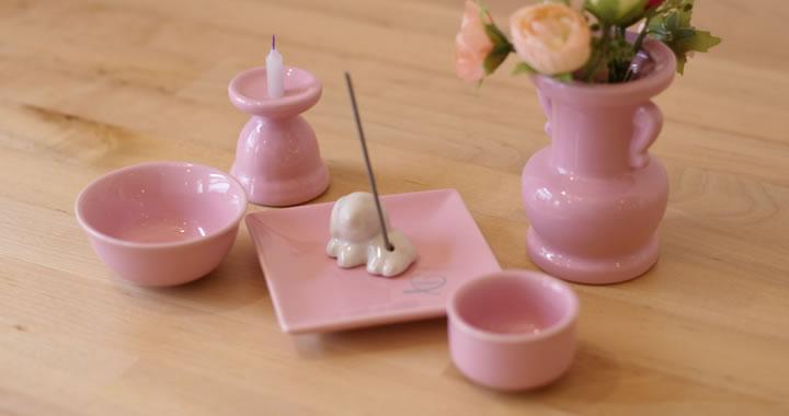 ペット仏具 オリジナル陶器仏具